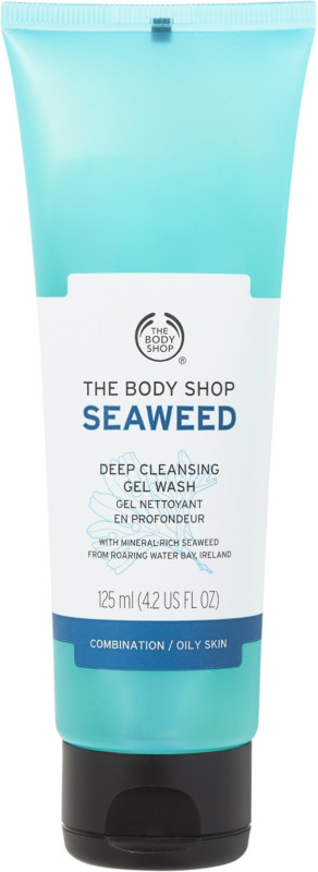 body shop face wash for combination skin