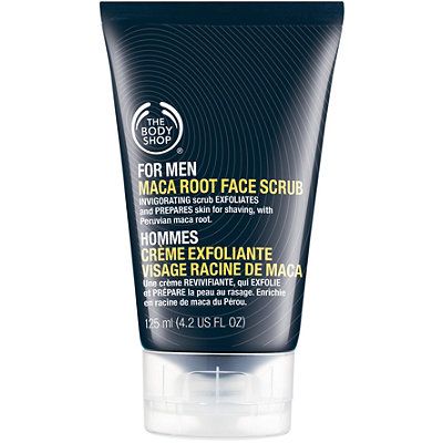 The Body ShopOnline Only For Men Maca Root Face Scrub