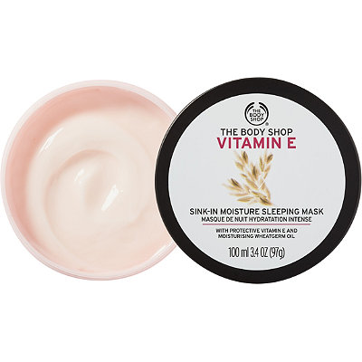 The Body Shop Online Only Vitamin E Sink-In Moisture Mask