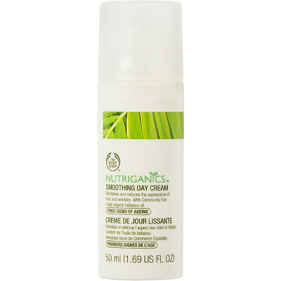 The Body Shop Online Only Nutriganics Smoothing Day Cream