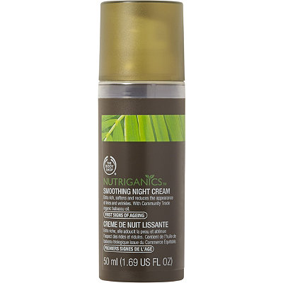 The Body Shop Online Only Nutriganics Smoothing Night Cream