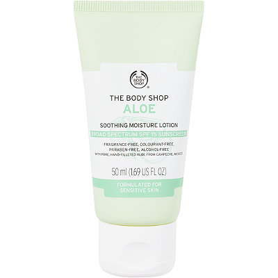 The Body Shop Online Only Aloe Soothing Moisture Lotion SPF 15