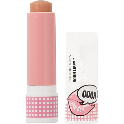 The Body Shop Online Only Pink Berry Born Lippy Stick Lip Balm