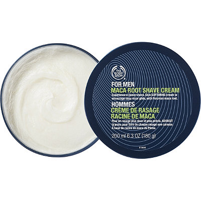 The Body ShopOnline Only For Men Maca Root Shave Cream