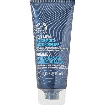 The Body Shop Online Only For Men Maca Root Razor Relief