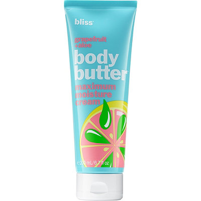 Bliss Grapefruit %2B Aloe Body Butter Maximum Moisture Cream