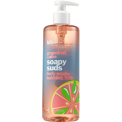 Bliss Grapefruit %2B Aloe Body Soapy Suds Body Wash %2B Bubble Bath