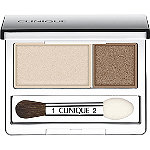 Clinique All About Shadow Duo Ivory Bisque/Bronze Satin New