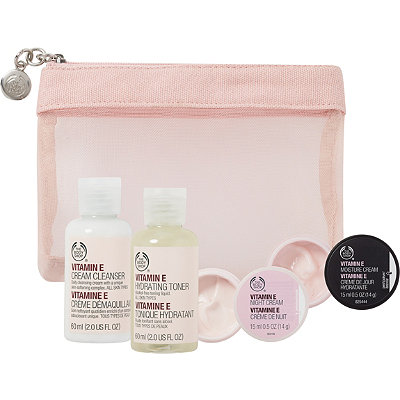The Body Shop Online Only Vitamin E Skin Care Starter Kit