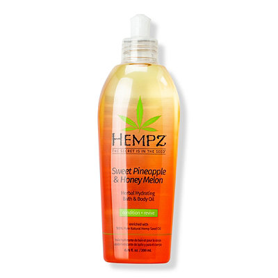 Hempz Sweet Pineapple %26 Honey Melon Hydrating Bath %26 Body Oil