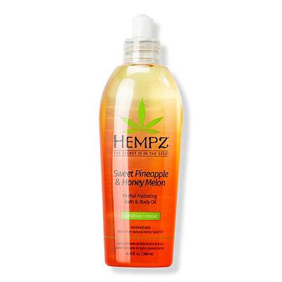 HempzSweet Pineapple & Honey Melon Hydrating Bath & Body Oil