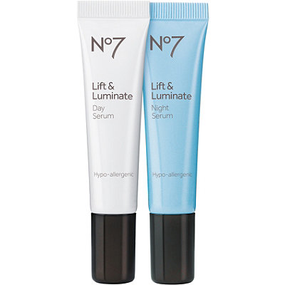 Boots No7 Lift & Luminate Day & Night Serum