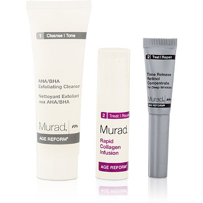 Murad Online Only FREE Murad Age Reform Trio Sampler w/any $40 Murad purchase