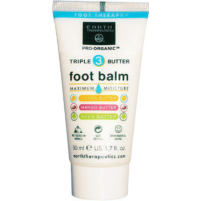 Earth Therapeutics Travel Size Triple Butter Intensive Foot Balm