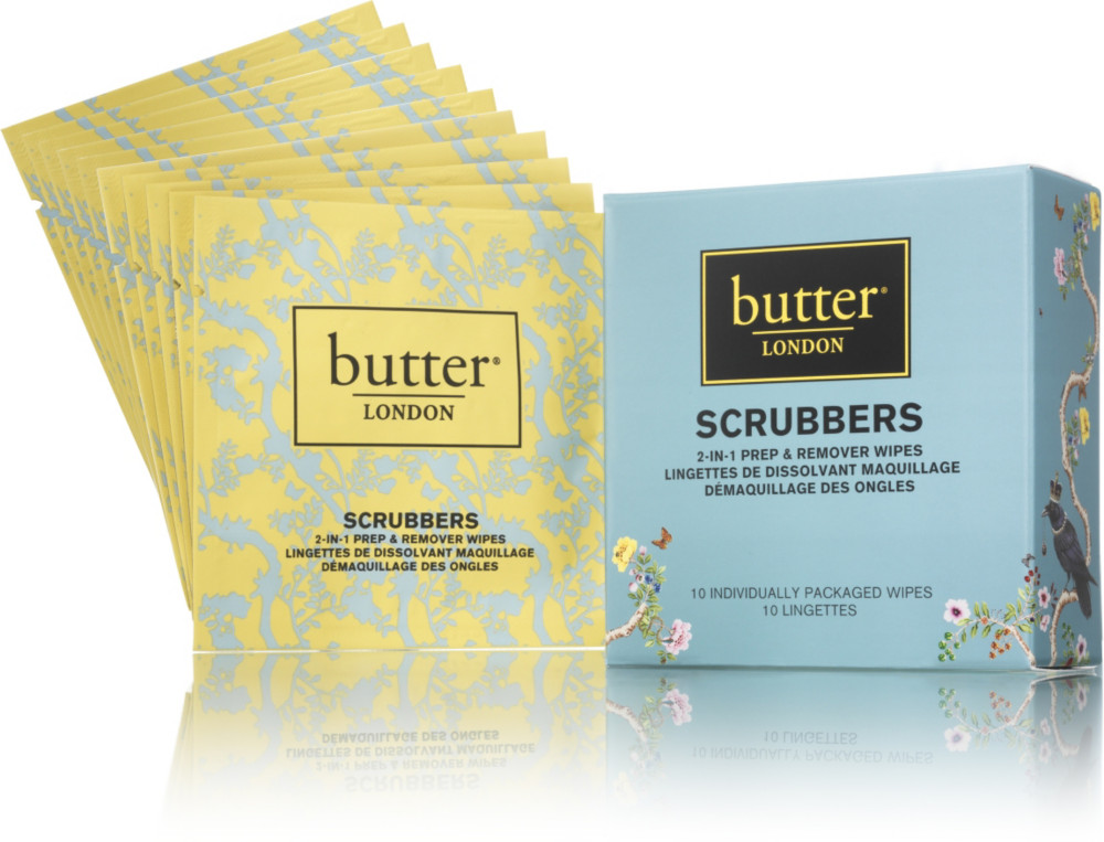 Scrubbers 2 In 1 Remover & Nail Prep Pads | Ulta Beauty