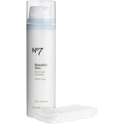 BootsOnline Only No7 Beautiful Skin Hot Cloth Cleanser
