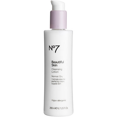 BootsOnline Only No7 Beautiful Skin Cleansing Lotion
