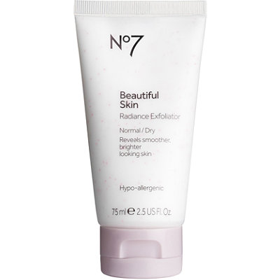 Boots Online Only No7 Beautiful Skin Radiance Exfoliator