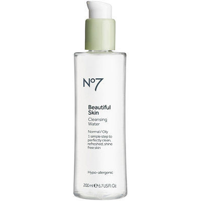 Boots Online Only No7 Beautiful Skin Cleansing Water