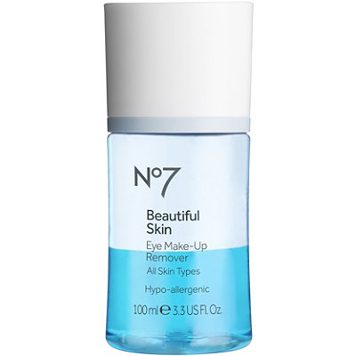 BootsOnline Only No7 Beautiful Skin Eye Make-Up Remover