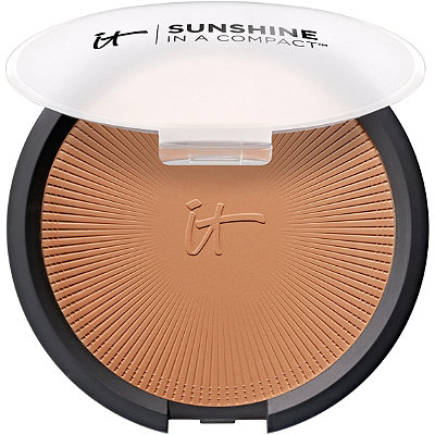 It CosmeticsSunshine In A Compact  Vitality Anti-Aging Matte Bronzer