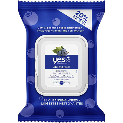 Yes toBlueberries Brightening Facial Towelettes