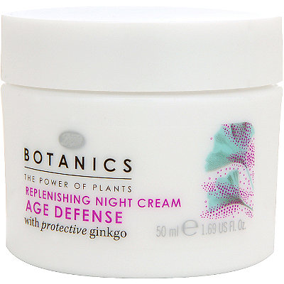 Boots Botanics Age Defense Replenishing Night Cream