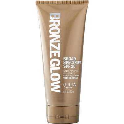 ULTABronze Glow Broad Spectrum Sunscreen Lotion With Shimmer SPF 20
