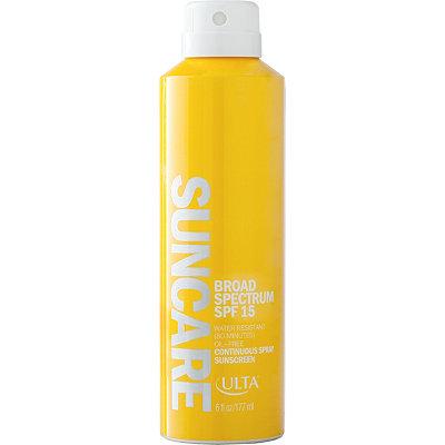 ULTASuncare Broad Spectrum SPF 15 Spray Sunscreen