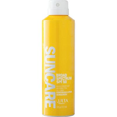ULTASuncare Broad Spectrum SPF 50 Sunscreen Spray
