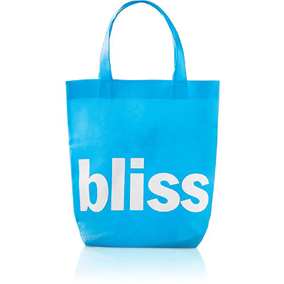 Bliss FREE tote bag w/any $30 Bliss purchase