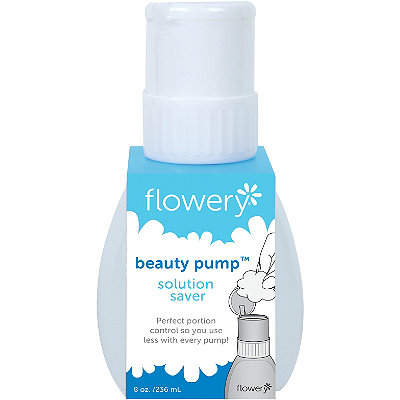 Flowery Beauty Pump Solution Saver