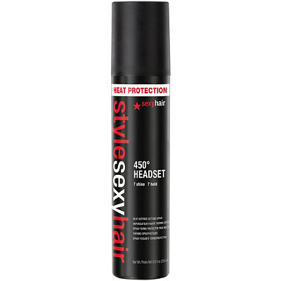 Sexy HairStyle Sexy Hair 450 Headset Heat Defense Setting Spray