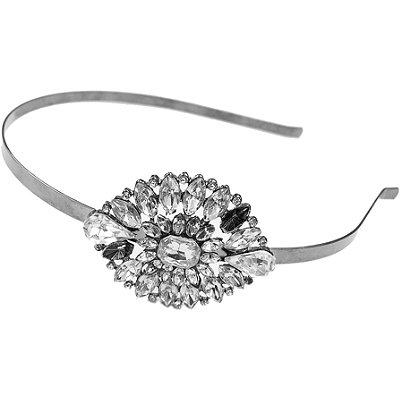 KarinaHeadband Clear Stone Brooch