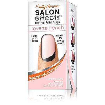 Sally Hansen Salon Effects Reverse French Manicure Strips