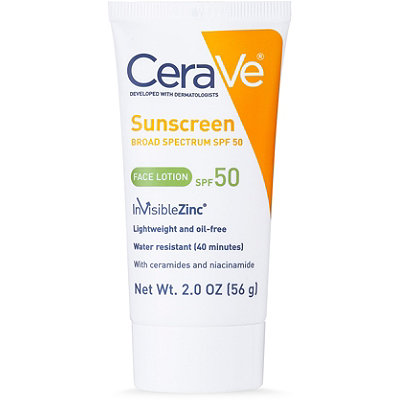 CeraVeSunscreen Broad Spectrum Face Lotion SPF 50