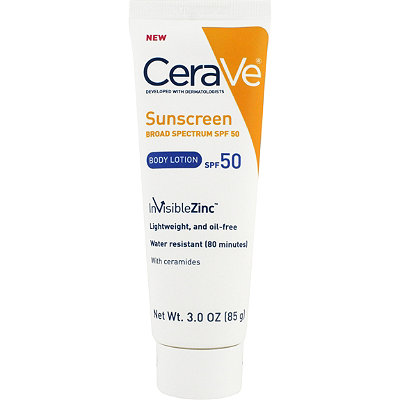 Body Sunscreen 50 with Zinc Oxide Broad Spectrum SPF 50