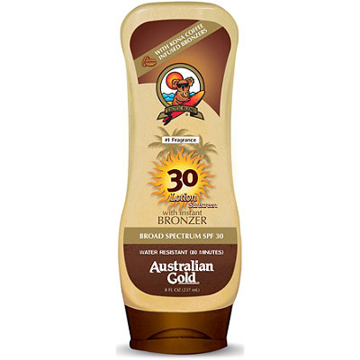 Lotion Sunscreen With Instant Bronzer