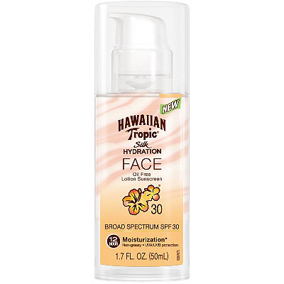 Hawaiian Tropic Silk Hydration Faces Lotion SPF 30
