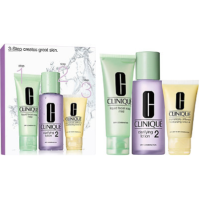 Clinique3-Step Introduction Kit For Drier Skin (Type 2)