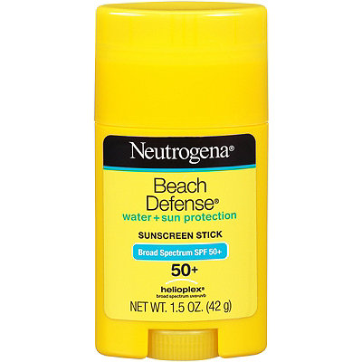 Neutrogena Beach Defense Water + Sun Barrier Stick Sunscreen Broad Spectrum SPF 50+