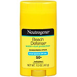 Beach Defense Water + Sun Barrier Stick Sunscreen Broad Spectrum SPF 50+