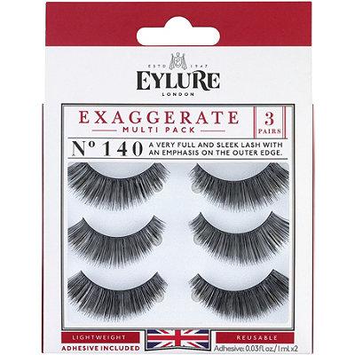 EylureNaturalite Exaggerate Eyelashes Multi-pack 140