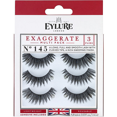 Eylure Naturalite Exaggerate Eyelashes Multi-pack 145