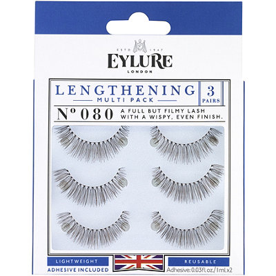 Eylure Lengthening Multi-pack Eyelashes 080