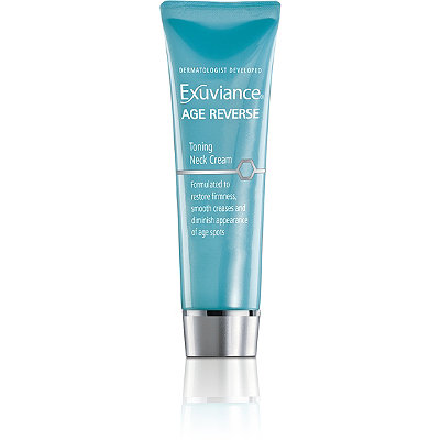 Exuviance FREE luxury size sample of new Age Reverse Toning Neck Cream w/any Exuviance purchase