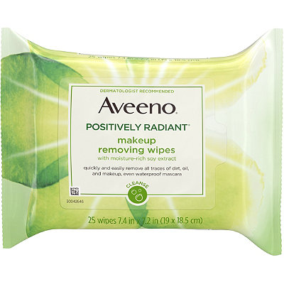 AveenoPositively Radiant Makeup Removing Wipes