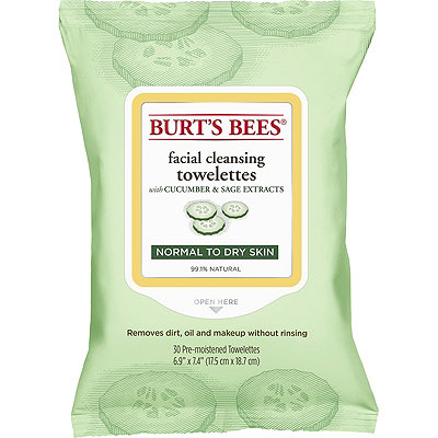 Burt's BeesFacial Cleansing Towelettes Cucumber and Sage