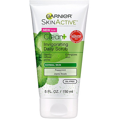 Garnier Clean+ Invigorating Daily Scrub