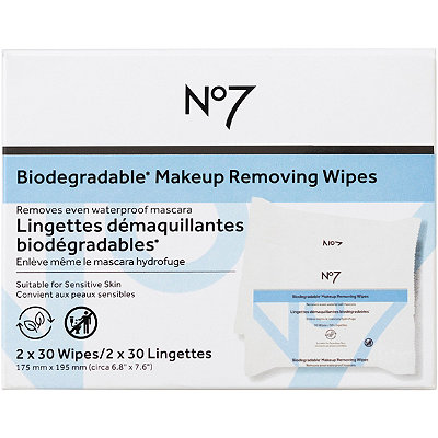 No7 Quick Beautiful Skin Quick Thinking Wipes 2 pk